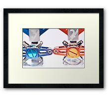 Crank Bros, Candy Pedals - product detail short DoF Framed Print