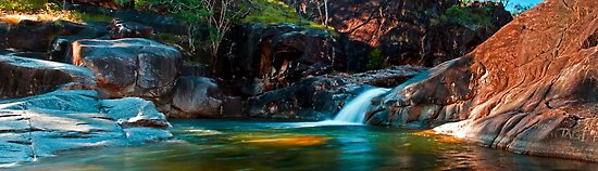 Lagoon Big Crystal Creek by Stephen  Nicholson