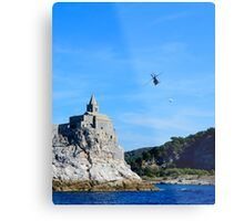 Helicopter Boss Metal Print