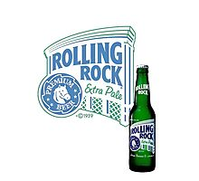 Rolling Rock Photographic Print