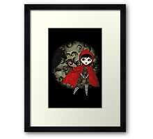 Little Red Capuccine Framed Print