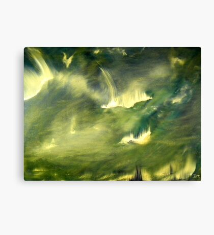 Cosmic eruptions Canvas Print