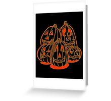 Jack o Lanterns Greeting Card