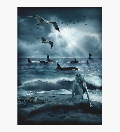 Sirens of the Sea Photographic Print