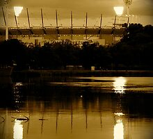 The mighty MCG by Dieter Berghmans
