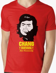 Chang Guevara Mens V-Neck T-Shirt