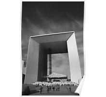 La Grande Arche de la Défense - Paris, France Poster