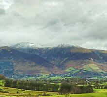 The Northern Fells...Skiddaw by Jamie  Green
