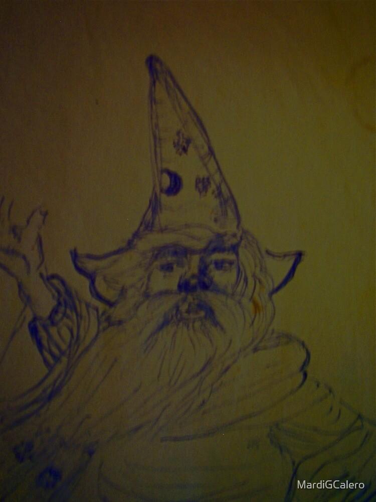 wizard, storm by MardiGCalero