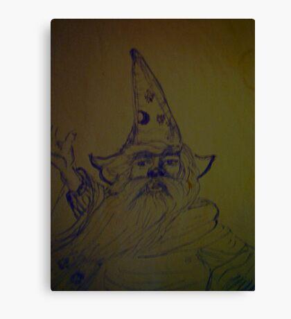 wizard, storm Canvas Print