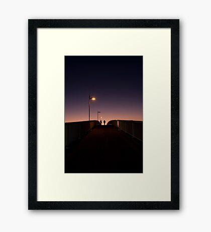 Chasing Light Framed Print