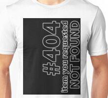 404 Boxxed Unisex T-Shirt