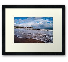 Swanage Beach Framed Print
