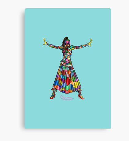 Scraps the Patchwork Girl of Oz by Kevenn T. Smith Canvas Print
