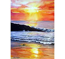 Sunset Glow Photographic Print