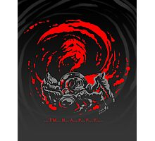 ... I'm... H... A... P... P... Y... Giygas Tee Photographic Print