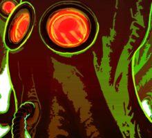 Squidmask- glowing version Sticker