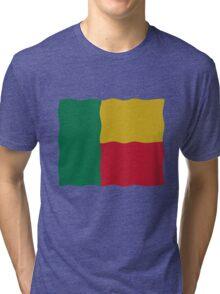 Flag Benin Tri-blend T-Shirt