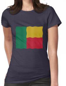 Flag Benin Womens Fitted T-Shirt