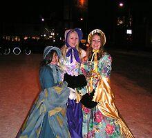 Giddy as kippers Victorian girls. by patjila