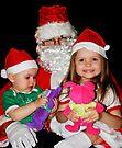 Santa's Visit On Christmas Eve by Evita