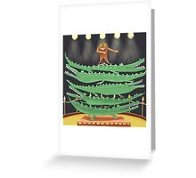 Crocodile Circus Greeting Card