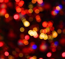The blur of Christmas by John Dalkin