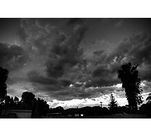 Storm over Perth Photographic Print