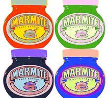 Marmite pop art by a0905671