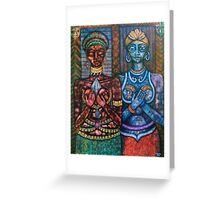 The priestess of the (o)cult  Greeting Card