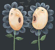 Flower Duet by fizzyjinks