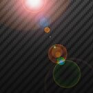 Carbon LensFlare by Naf4d