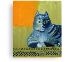 Tabby Owns Persian Canvas Print