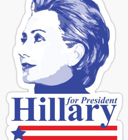 Vote for Hillary Clinton 2016 Sticker