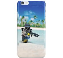 MNU diving suit simple iPhone Case/Skin