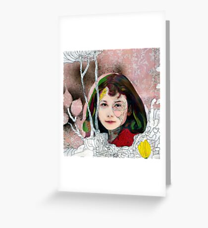 portrait of Gracie::no.3 Greeting Card