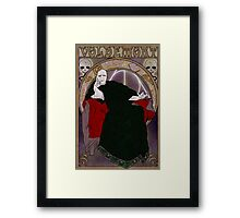 Lord Voldemort Framed Print