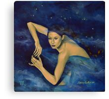 """Scorpio"" - ...from ""Zodiac signs"" series Canvas Print"