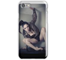 Asphyxia Noir on my TV iPhone Case/Skin