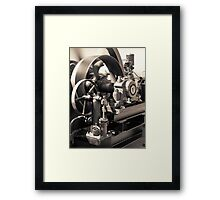 Swiftness of Wheels Framed Print