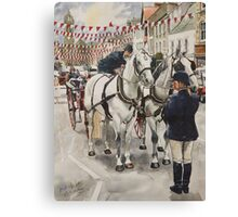 Patience : waiting for the Beltane Queen Canvas Print