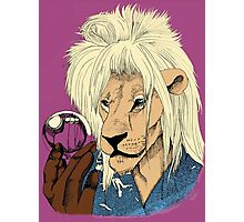 Goblin King of the Jungle (full color) Photographic Print