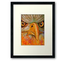 Eyes of A Predator Framed Print