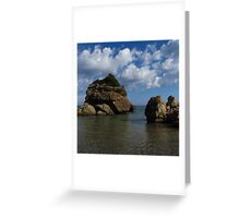 Rock Formation, Porto Zorro Greeting Card