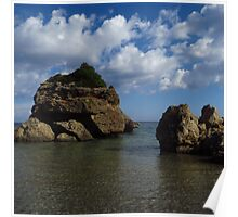 Rock Formation, Porto Zorro Poster