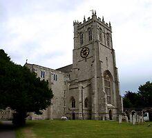 Christchurch Priory by kostolany244