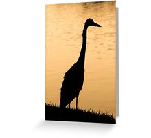 Lone Bird Greeting Card