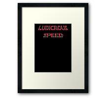 Ludicrous Speed Framed Print