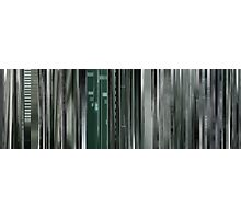 Moviebarcode: The Animatrix 8: A Detective Story (2003) Photographic Print