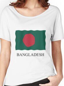 Bangladesh flag Women's Relaxed Fit T-Shirt
